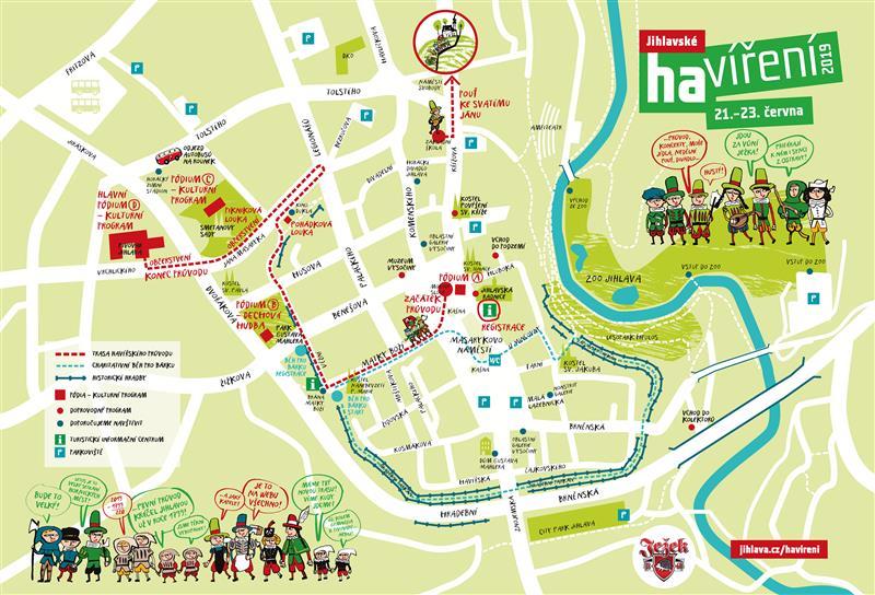 mapa havíření